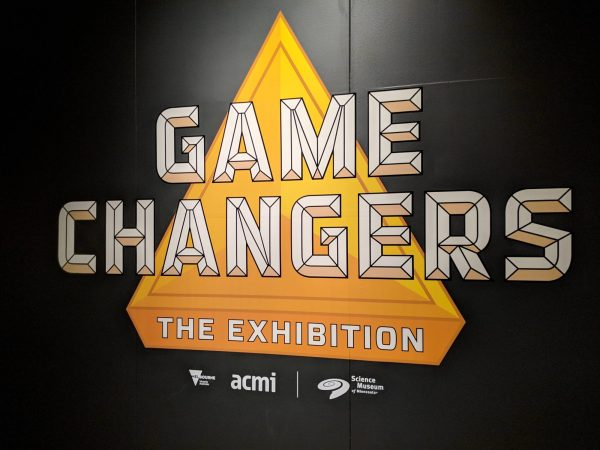 Science Museum of Minnesota 'Game Changers' exhibit sign