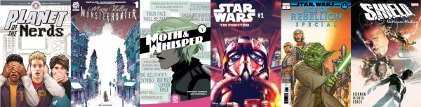 Comics for the week of April 17, 2019