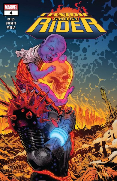 Ccover of Cosmic Ghost Rider #4