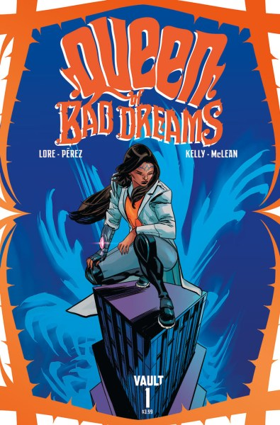 Queen of Bad Dreams comic cover