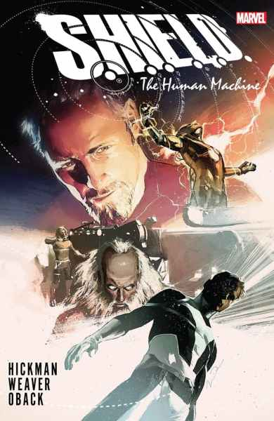 SHIELD: The Human Machine cover