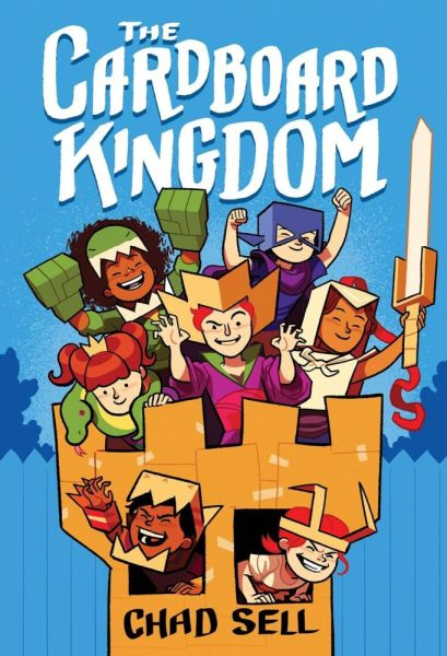 The front cover of The Cardboard Kingdom by Chad Sell