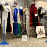 A display of costumes