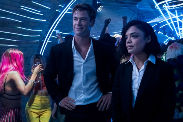 Agents H and M in a nightclub setting