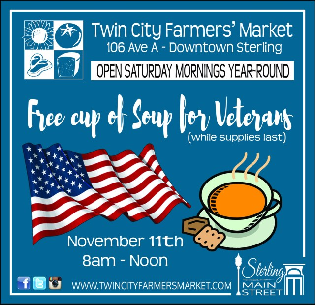 SVM Weekly 11-9-17 TCM Veterans Soup