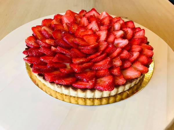 aardbeien taart online bestellen