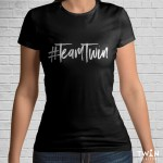 Team Twin T-Shirt Black