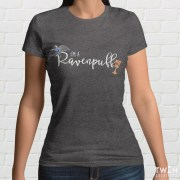 Ravenpuff Grey Ladies T Shirt