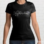 Slytherclaw Ladies T Shirt Black