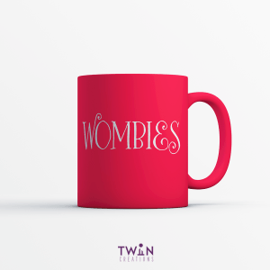 Wombies Red Mug