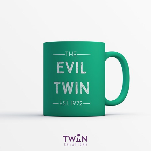 The Evil Twin Mug Green