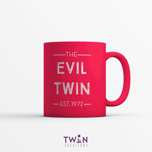 The Evil Twin Mug Red