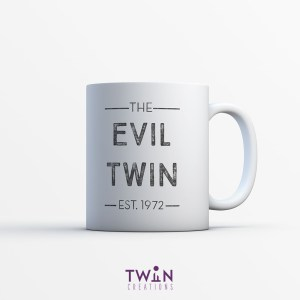 The Evil Twin Mug White