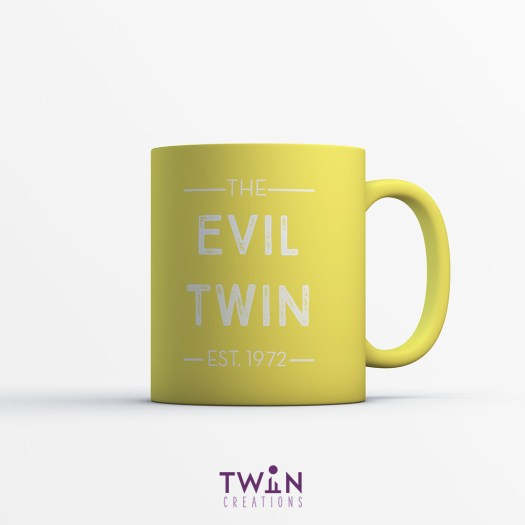 The Evil Twin Mug Yellow