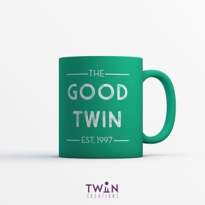 The Good Twin Mug Green