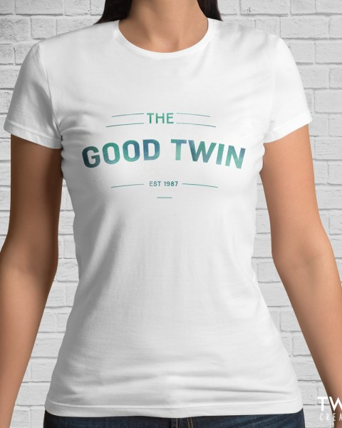 good twin tee white