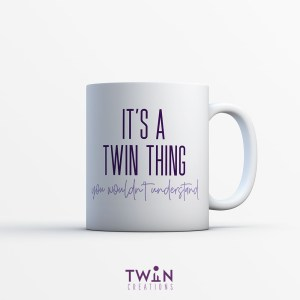 It's A Twin Thing Mug White