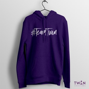 Team Twin Hoodie Purple