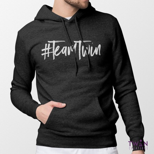 Team Twin Hoodie Mens Feature