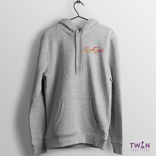 Team Twin Hoodie Small Design Athletic