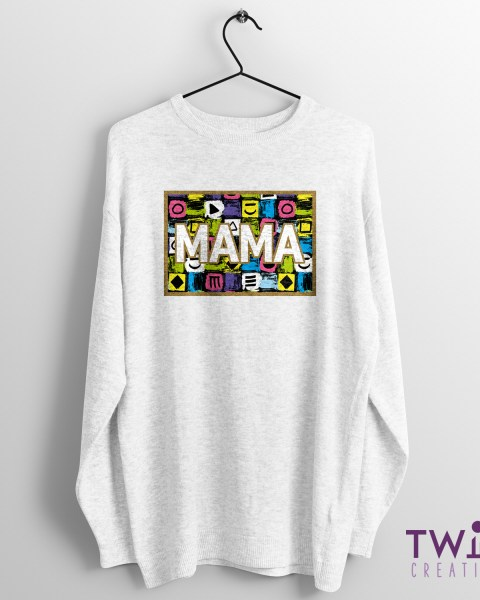 MAMA Jumper Funky White