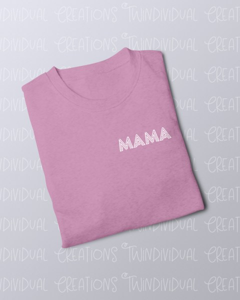 TC FOLDED JUMPER mama pink