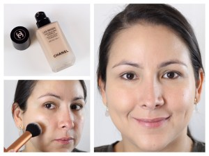 Step 2: Applying foundation