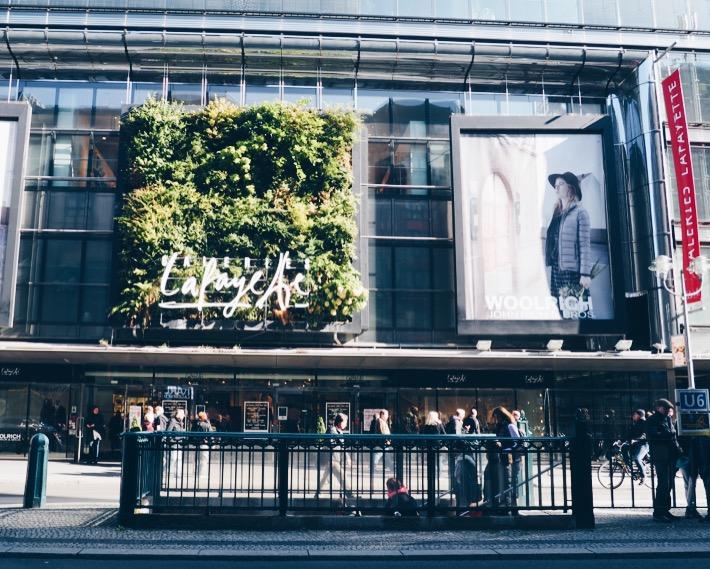 Galleries Lafayette in Berlin