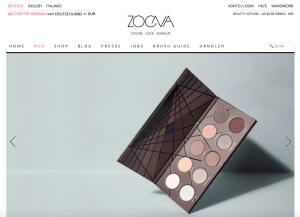 Zoeva Glamour Shopping Week