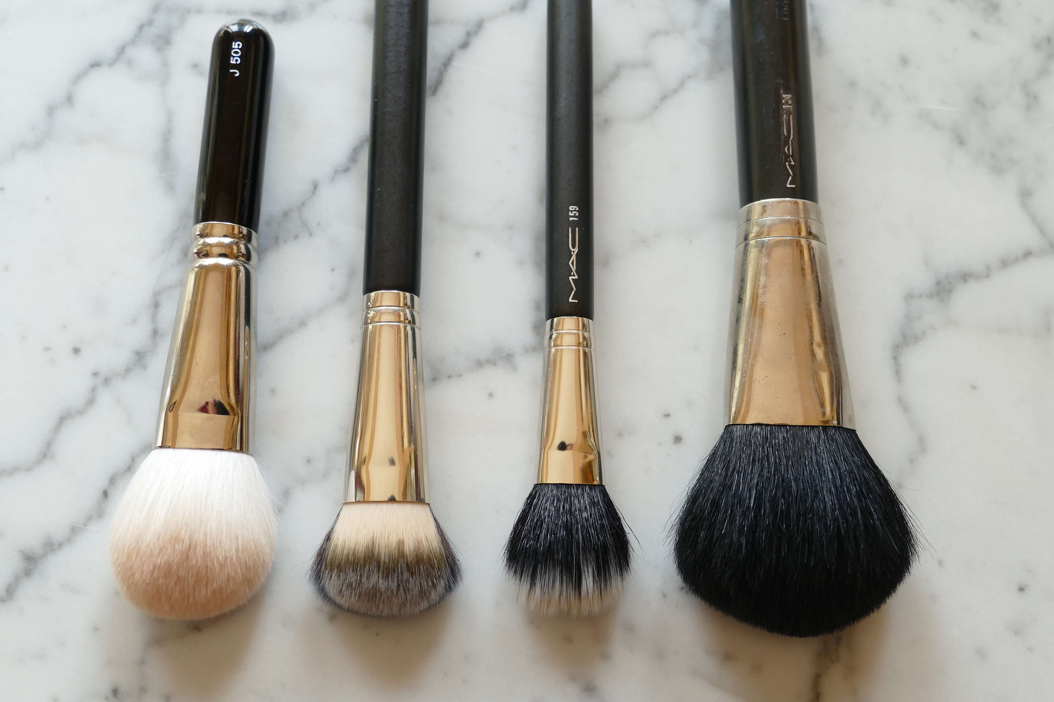 Two weeks, two brushes: Hakuhodo brush review - twindly beauty blog