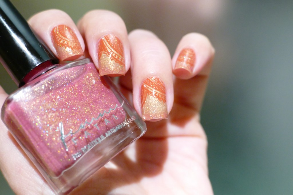 Femme Fatale thermal nail polish