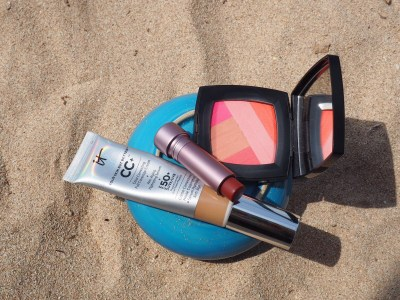 beach vacation beauty products