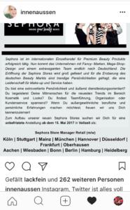 Sephora Germany
