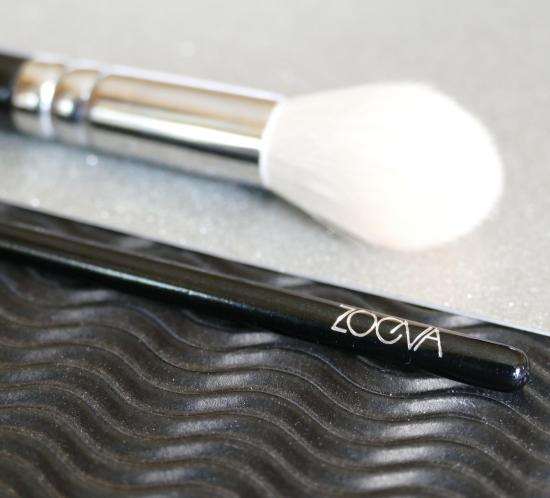 Zoeva highlighter and eyeliner brush review