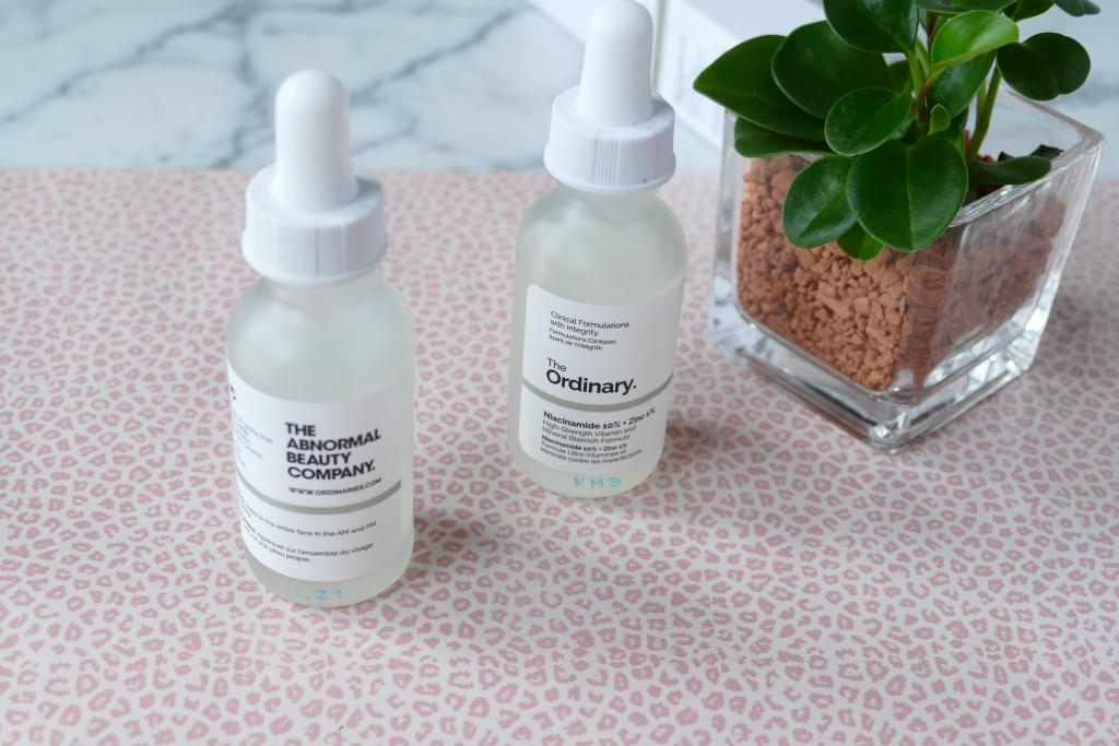 two serums from The Ordinary