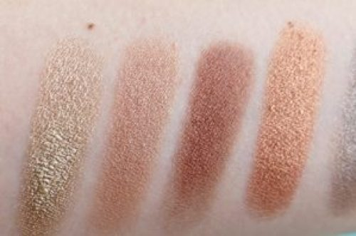 Favourite gold and copper eyeshadows