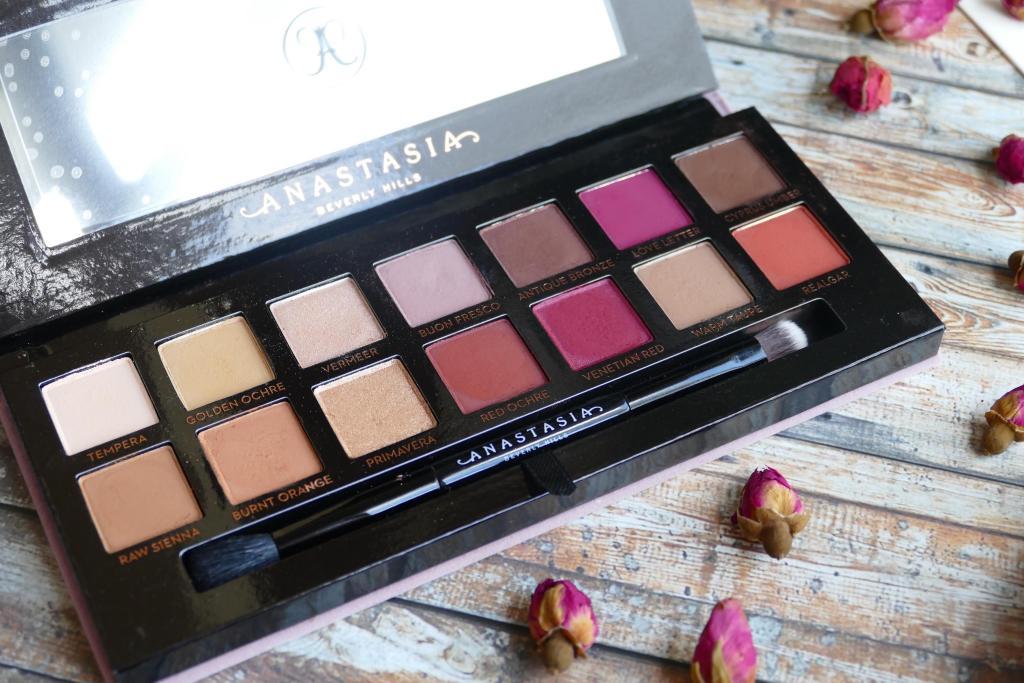 Anastasia Beverly Hills Modern Renaissance palette review comparison