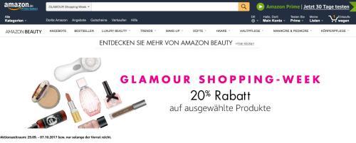 amazon Glamour Shopping Week 2017