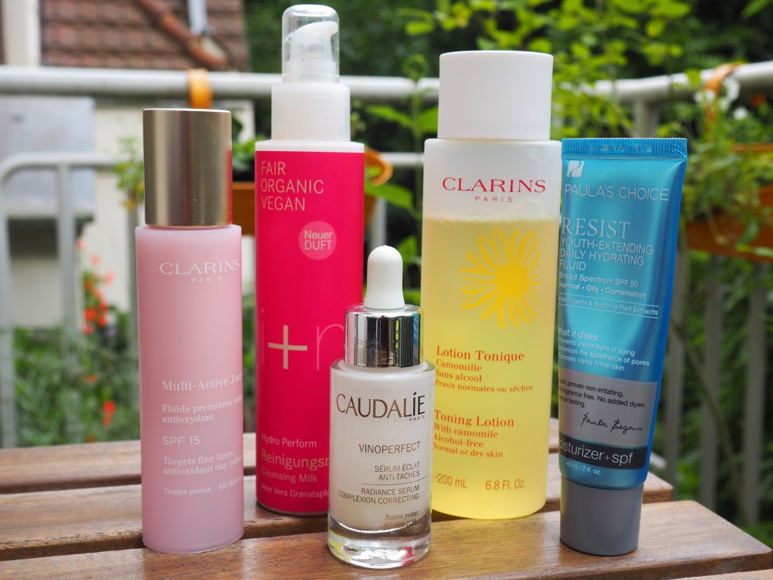 summer holy grail skincare routine