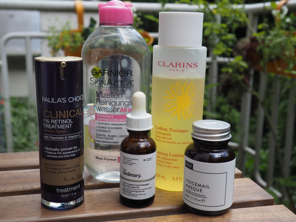 Easy evening skincare routine for combination skin