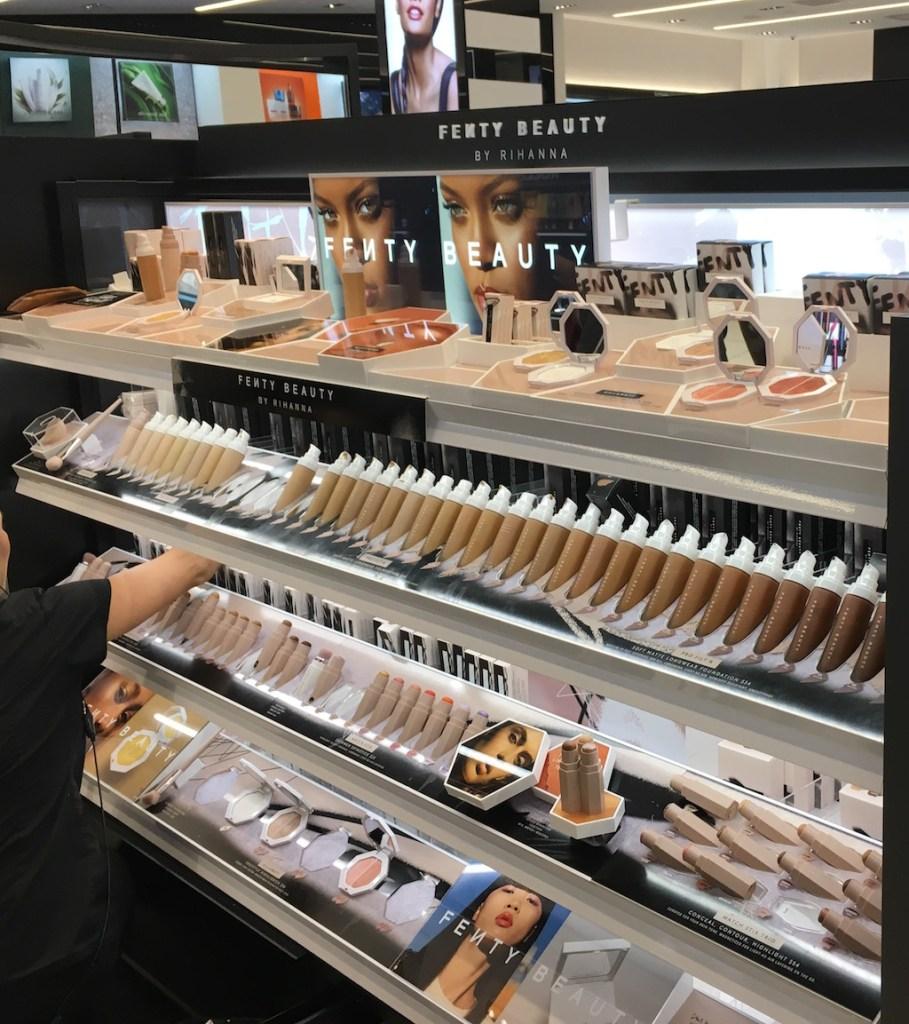 Fenty Beauty Display at Sephora