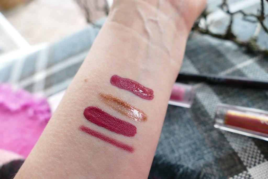 Huda Beauty lip kit Trophy Wife