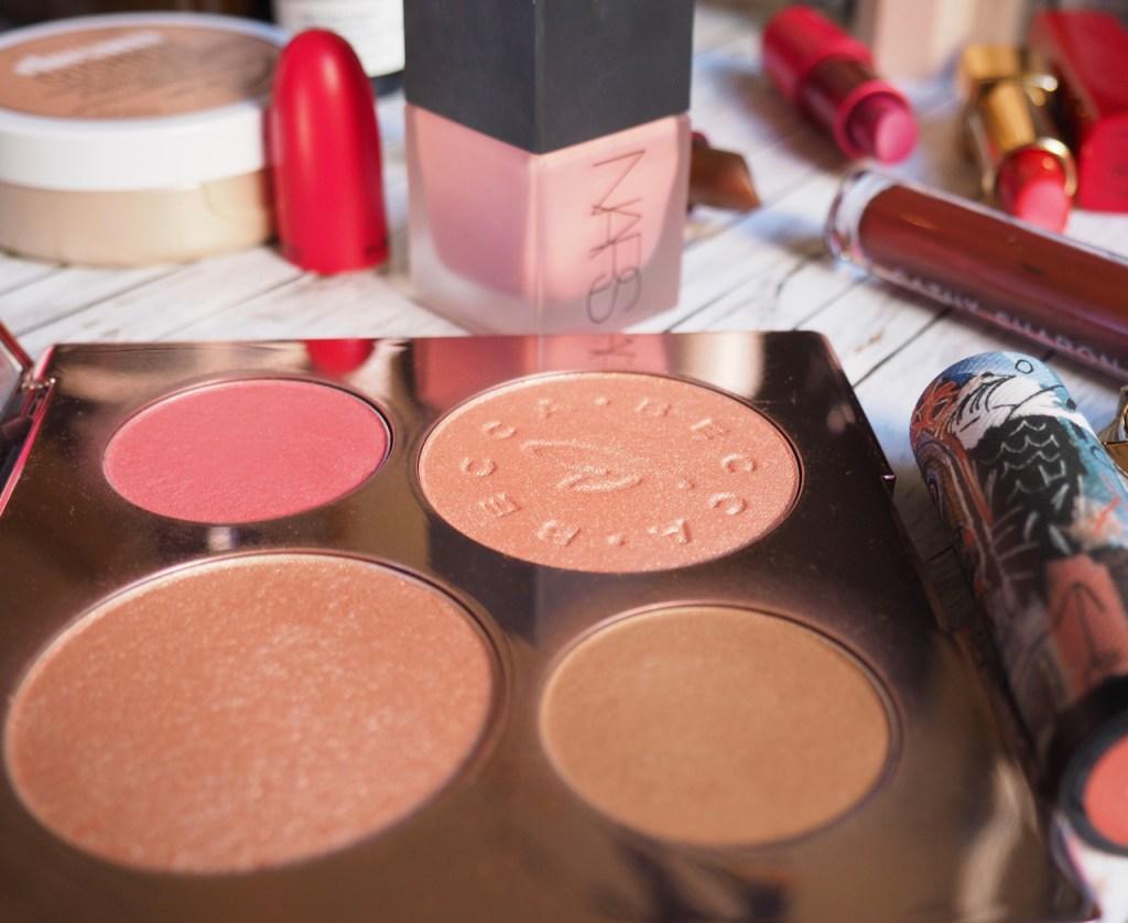 Becca x Chrissy Teigen Palette & NARS Liquid Orgasm Blush