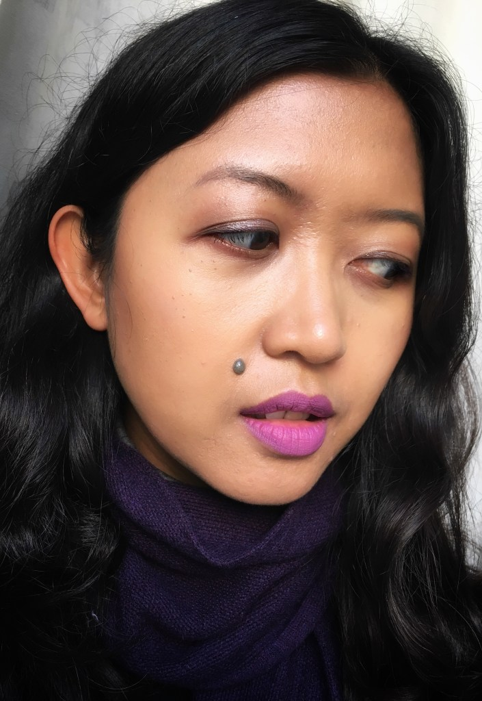 Wearing Fenty Beauty Pro Filt'r Foundation in 330, Fenty Beauty Match Stix in Unicorn