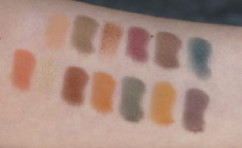 ABH Subculture Palette review, swatch