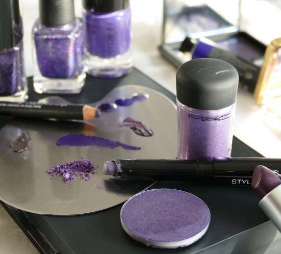 Pantone Ultra Violet makeup inspo