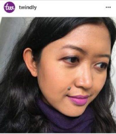Ultra Violet makeup Pantone
