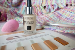 Catrice HD Liquid Coverage review, swatch, comparison