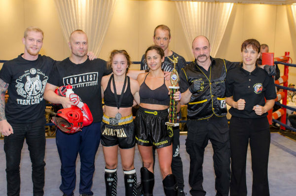 Twin Dragon East Kickboxing - Friday Fight Night 2016