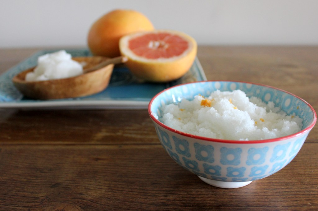 Grapefruit Sugar Scrub_Twine And Braids